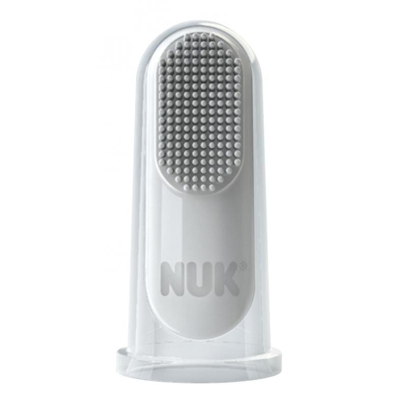 NUK Пръстче за масаж + паста за зъби