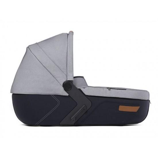 Mutsy Комбинация: Шаси i2 Urban Nomad Standard + Кош за новородено + Седалка и сенник + Чанта i2 Urban Nomad White&Blue