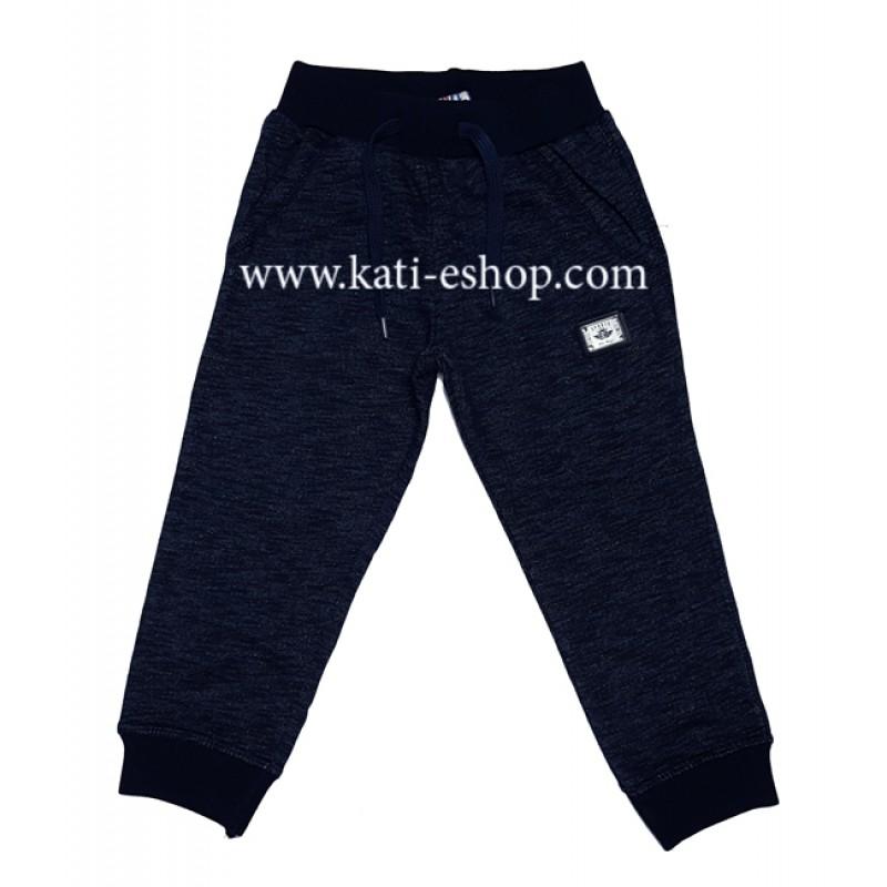 E&H Долнище за момче син меланж 5-254