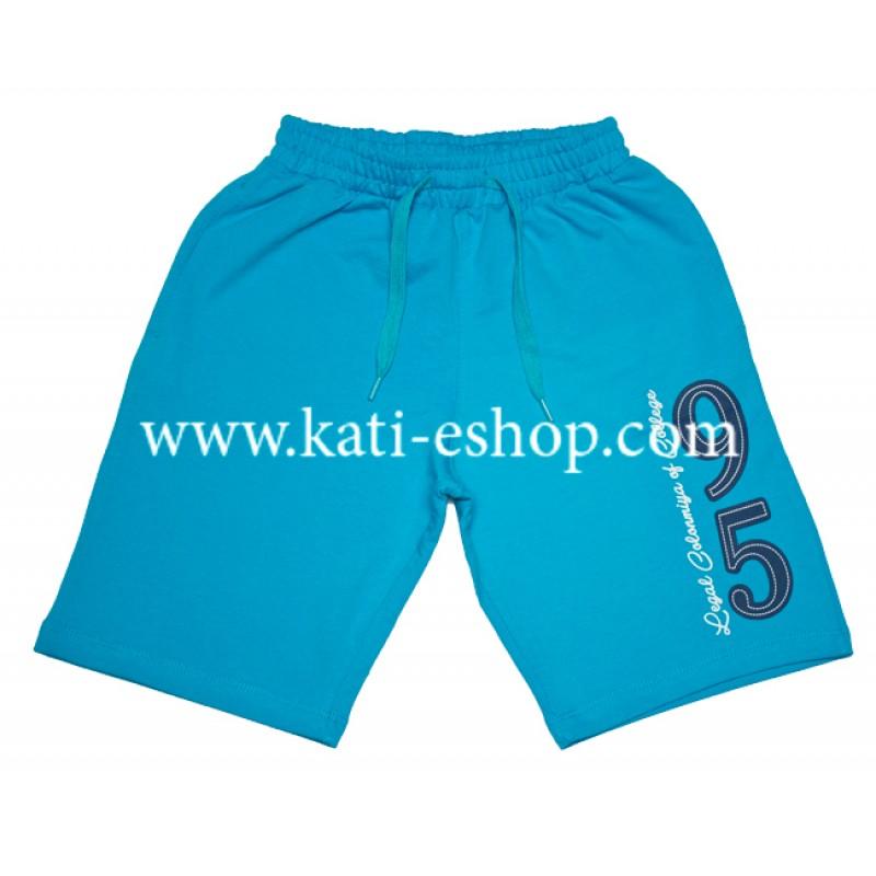 E&H Памучни къси панталони за момче електрик 5-196