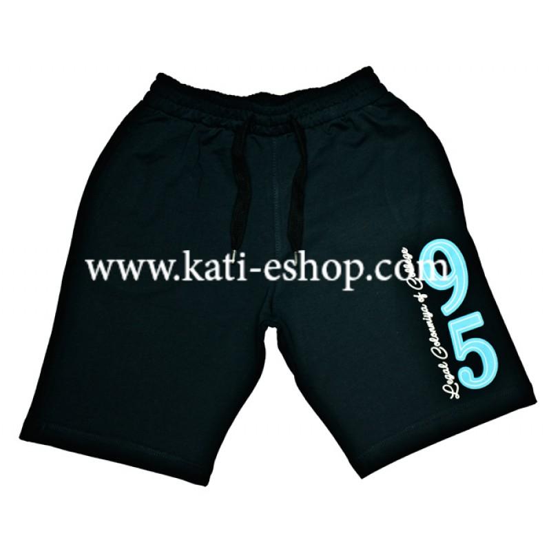 E&H Памучни къси панталони за момче т.синьо 5-197