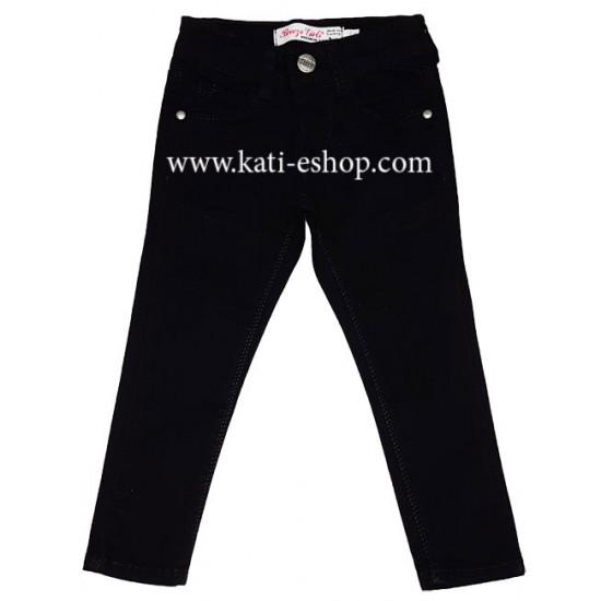 BREEZE Спортен панталон за момиче черен 5-217