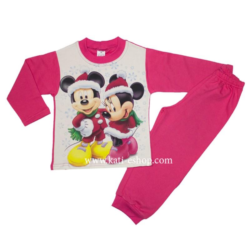 КомТекс Ватирана пижама за момиче 2-406