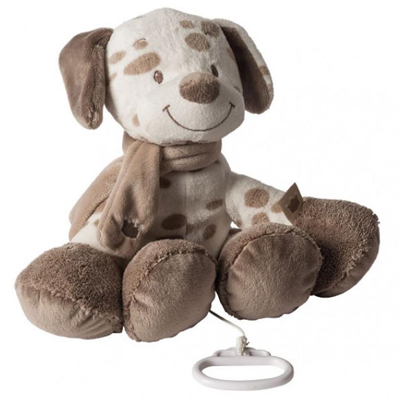 Nattou Мека музикална играчка Кученце Макс