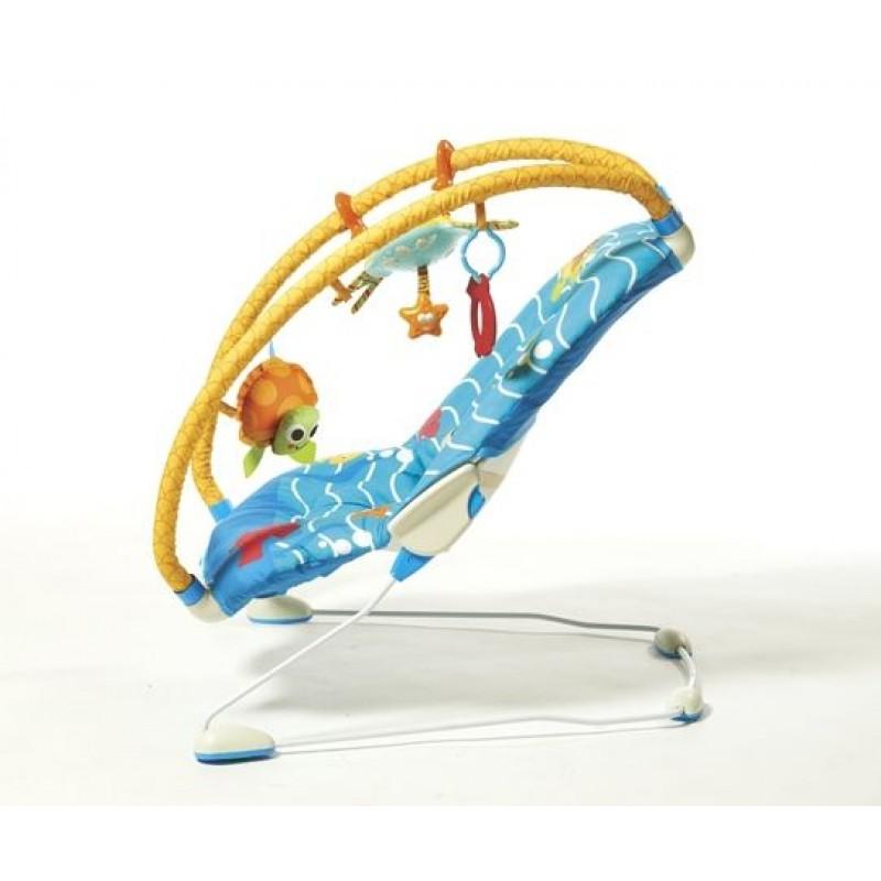 Tiny Love Музикален шезлонг Gymini Bouncer Under The Sea