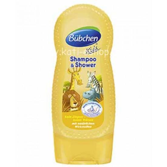 "Bübchen Шампоан за коса и тяло ""Сафари"" 230ml"