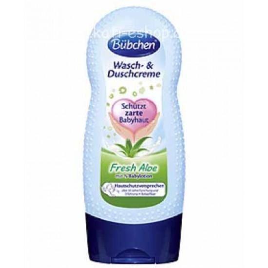 Bübchen Измиващ душ-крем Фреш Алое 230ml