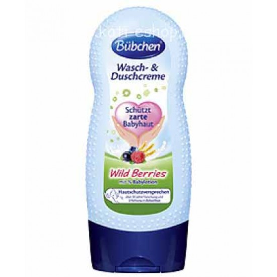 """Bübchen Измиващ душ крем """"Горски плодове"""" 230ml"""