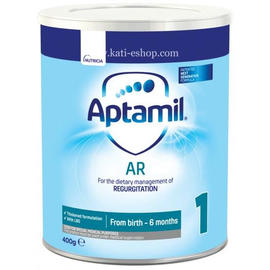 APTAMIL AR 1 - Мляко за кърмачета за намаляване на повръщанията 0м.+ 400г