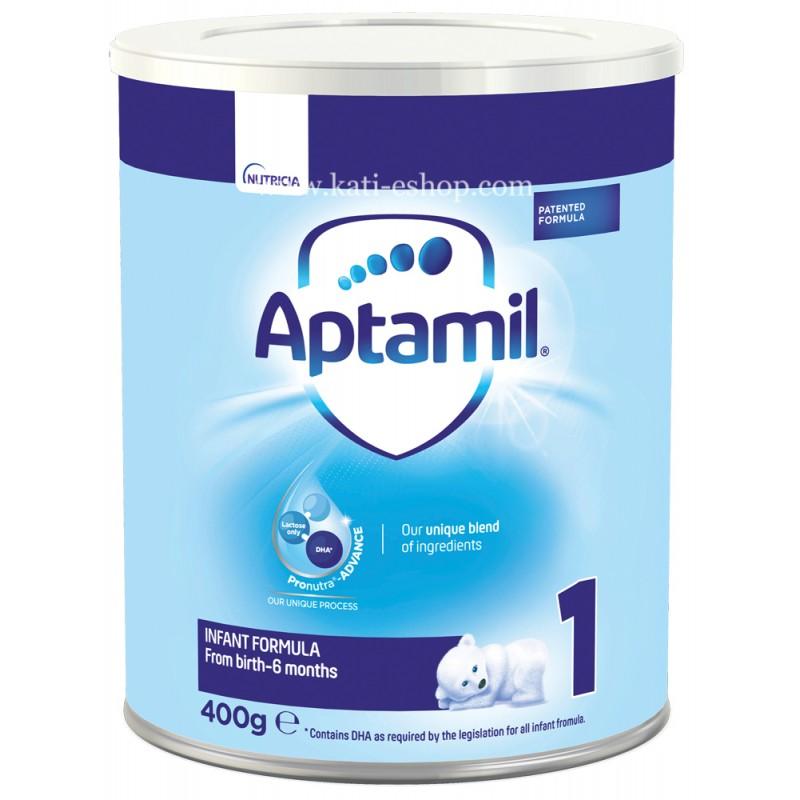 APTAMIL 1 мляко за кърмачета  0-6м.  400г