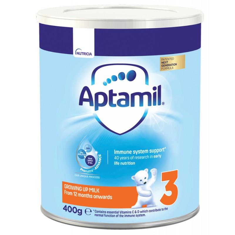 APTAMIL 3 мляко за малки деца 12м.+  400г