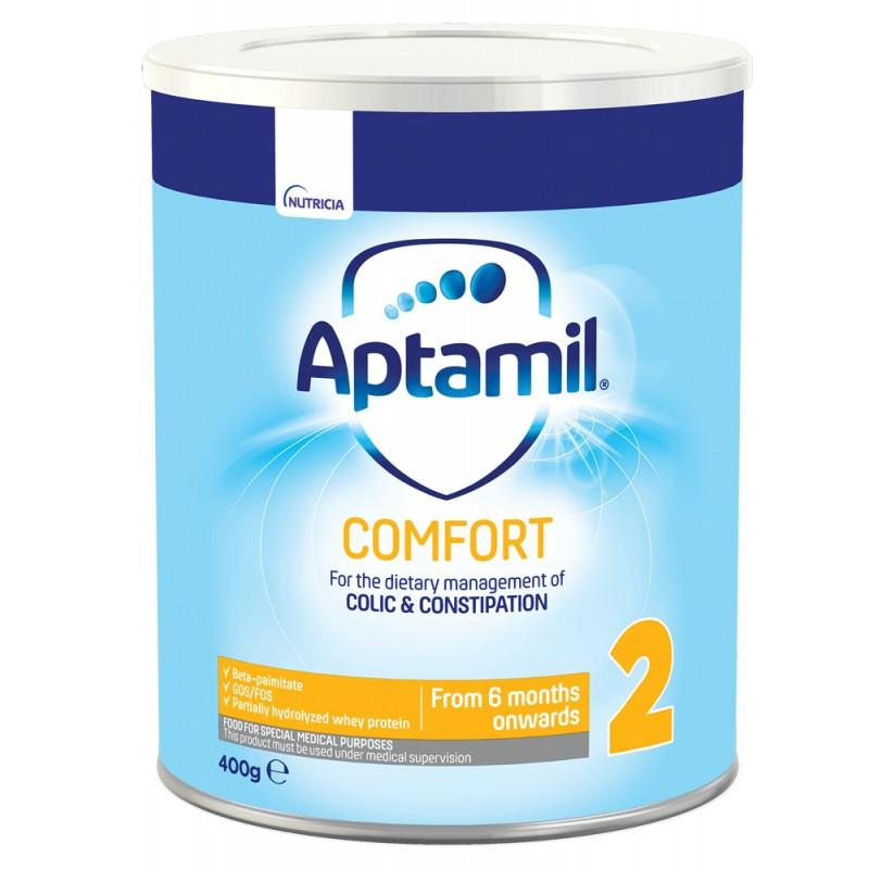 APTAMIL Comfort 2 - мляко за кърмачета с леки храносмилателни смущения 6м.+ 400г