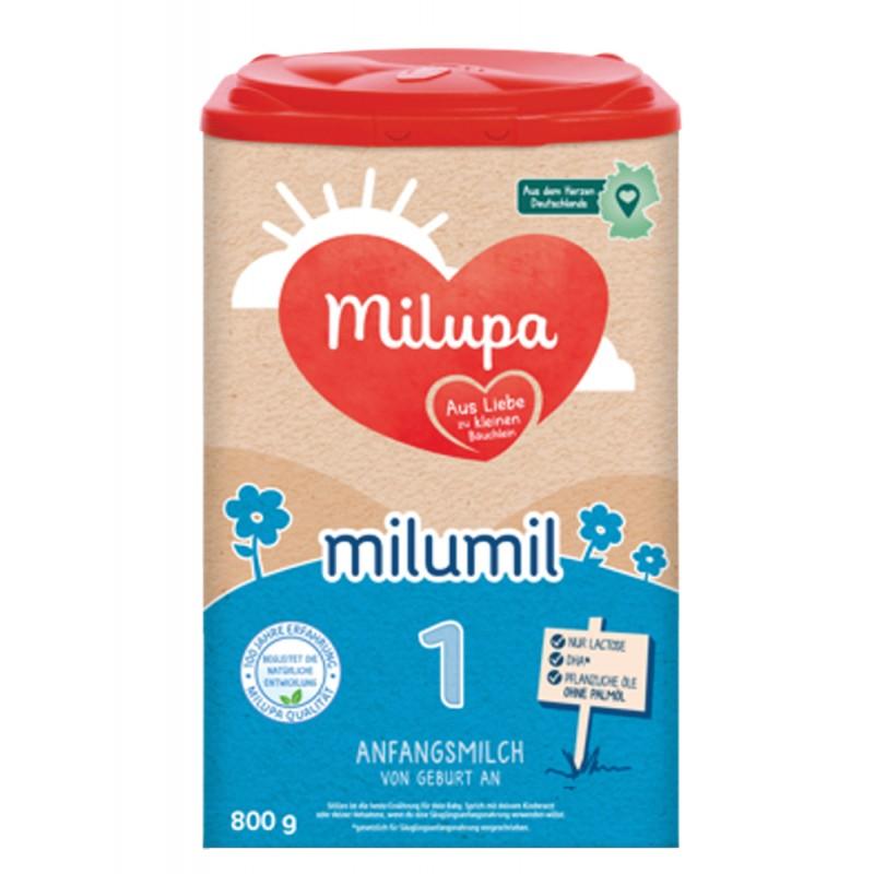 MILUMIL 1 Мляко за кърмачета 0-6м. 800г