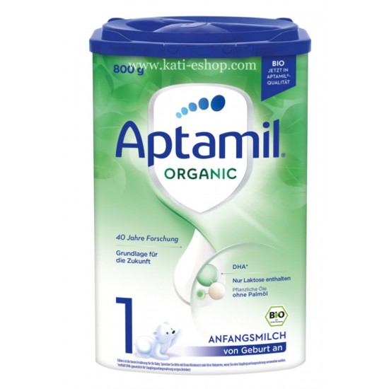 APTAMIL ORGANIC 1 Мляко за кърмачета 0-6м. 800г