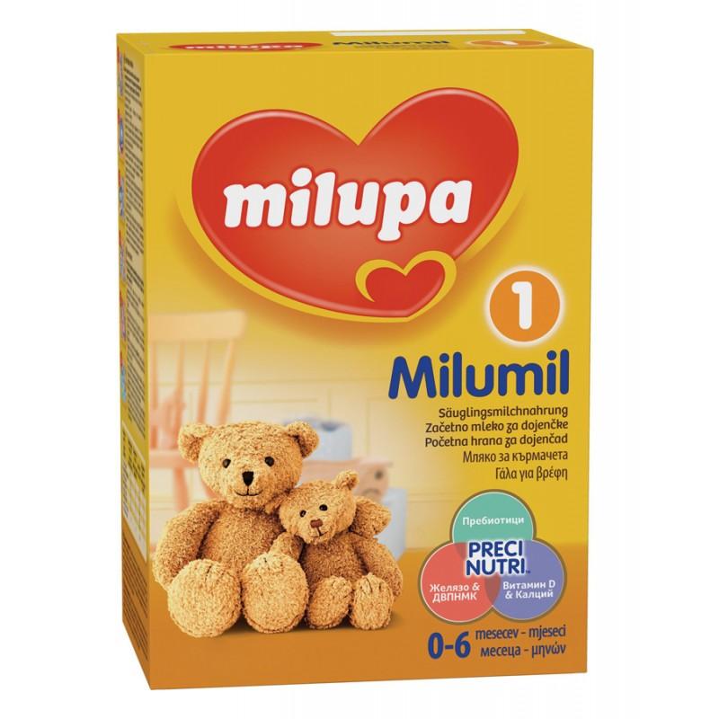 MILUMIL 1 Мляко за кърмачета 0-6м. 400г