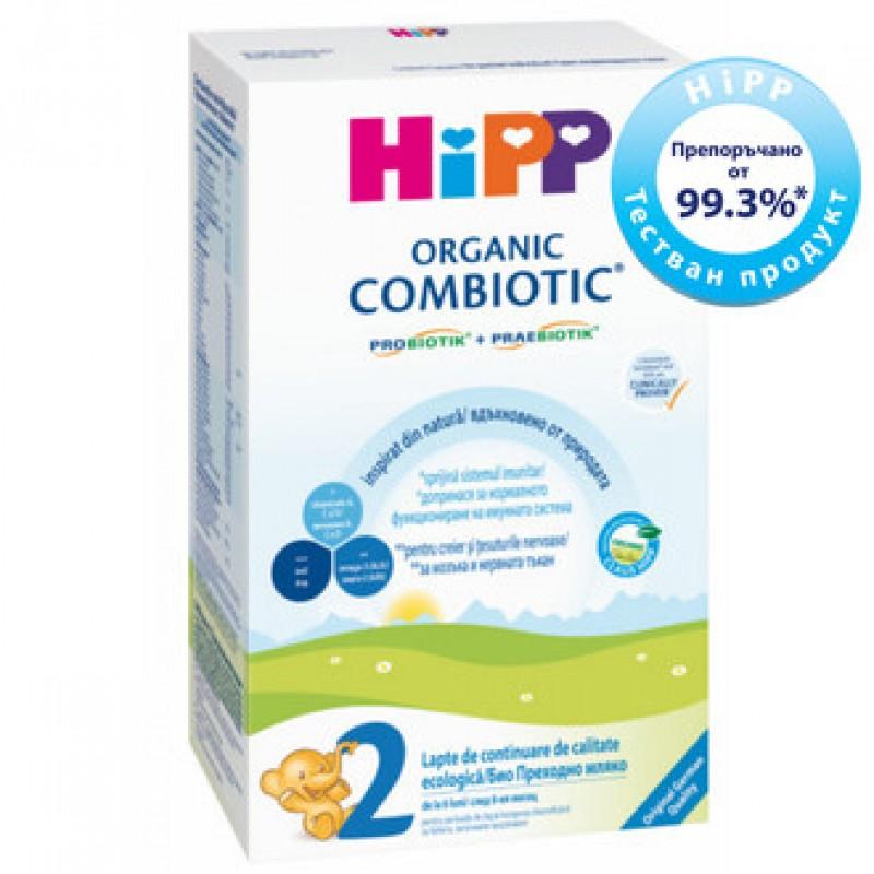 HiPP 2 Combiotic БИО преходно мляко 6-12м. 300г