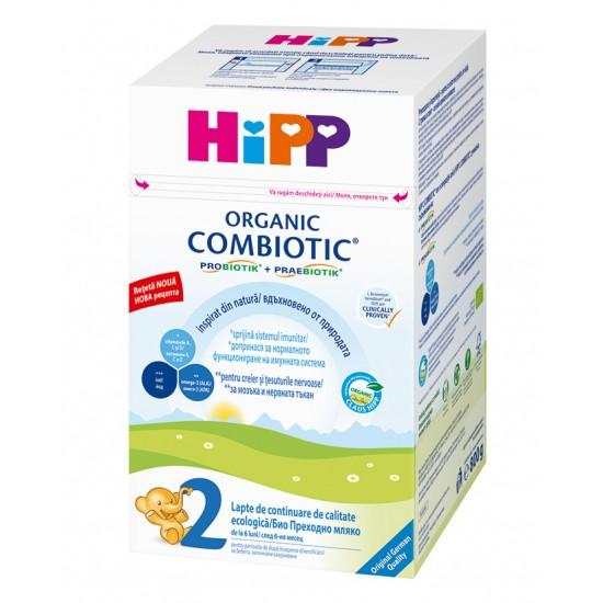 HiPP 2 Combiotic БИО преходно мляко 6-12м. 800г
