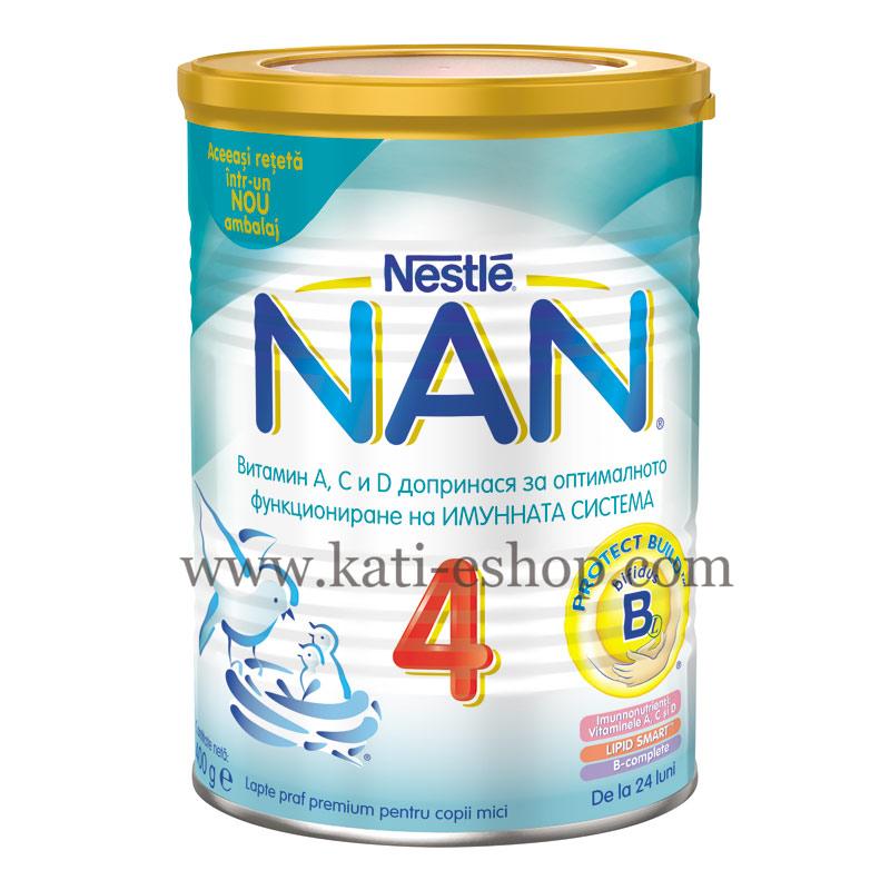 NAN 4 Преходно мляко 24м.+ 400г