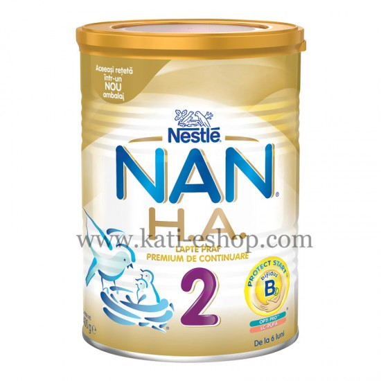 NAN H.A.2 Хипоалергенно преходно мляко 6м.+  400г