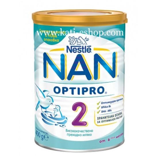 NAN 2 Преходно мляко 6-12м. 400г