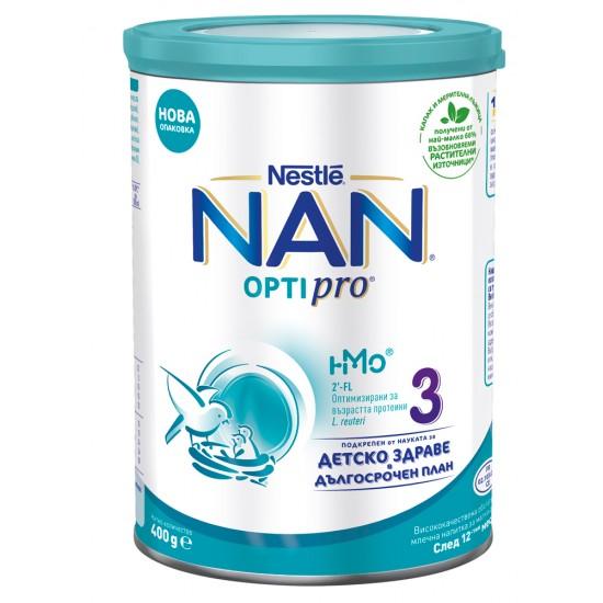 NAN 3 Преходно мляко  12м.+ 400г