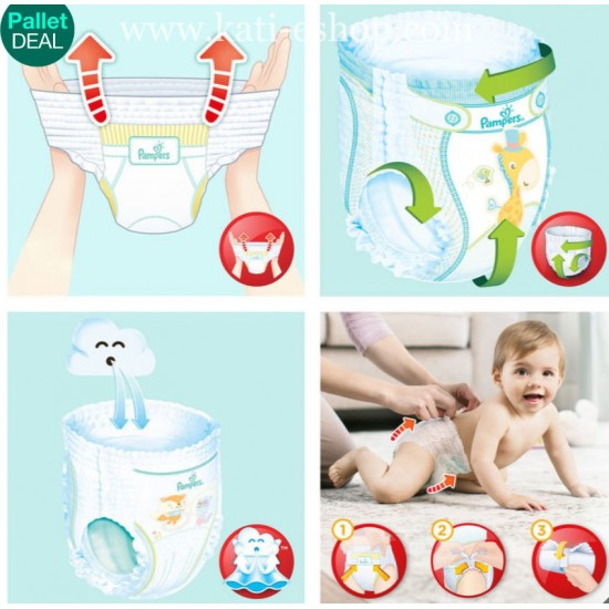 Pampers Гащички за еднократна употреба 4 Maxi 9-15 кг - 108бр.