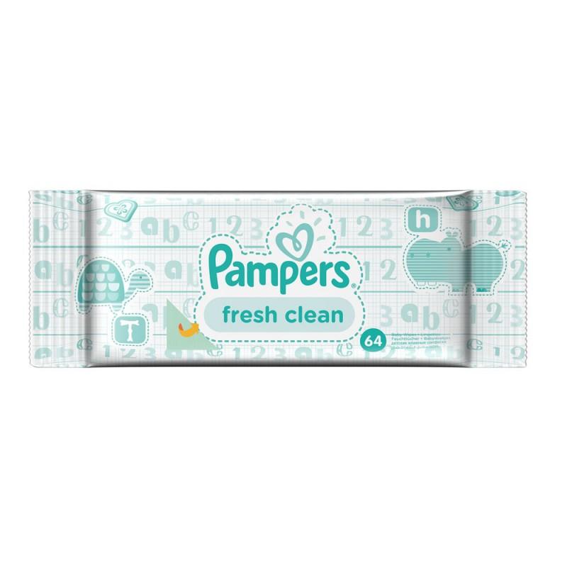 Pampers Мокри кърпи Baby Fresh 64бр.
