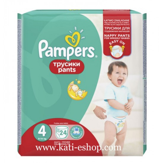 Pampers Гащички за еднократна употреба 4 Maxi 8-14 кг - 24бр.