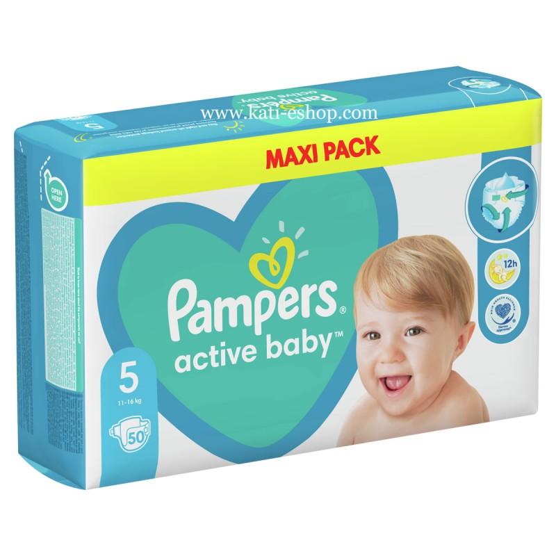 Pampers Active Baby 5 Junior 11-16 кг  51бр.