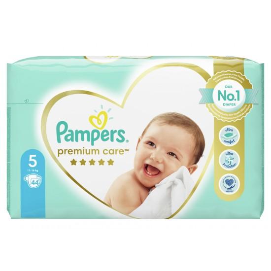 Pampers Premium Care 5 Junior 11-16 кг  - 44бр.