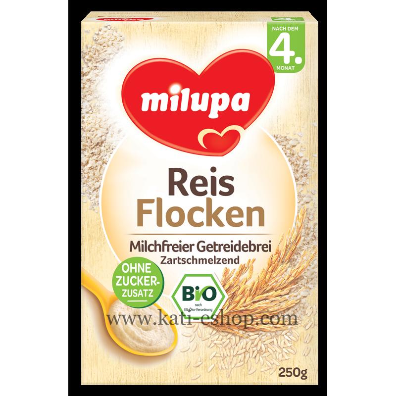 MILUPA Безмлечна каша ориз 4м 250г