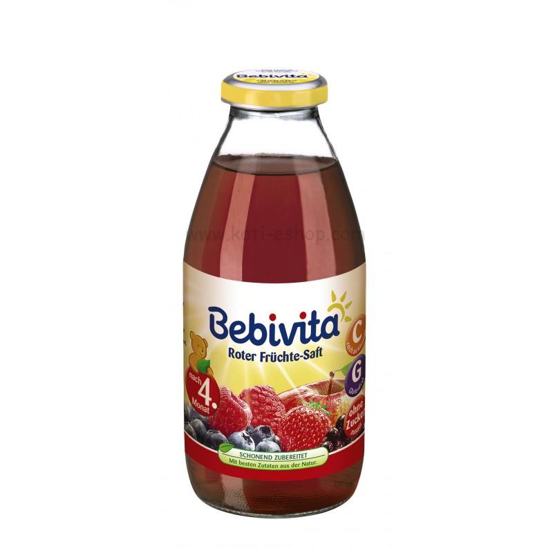 BEBIVITA Сок от червени плодове 4м. 200ml