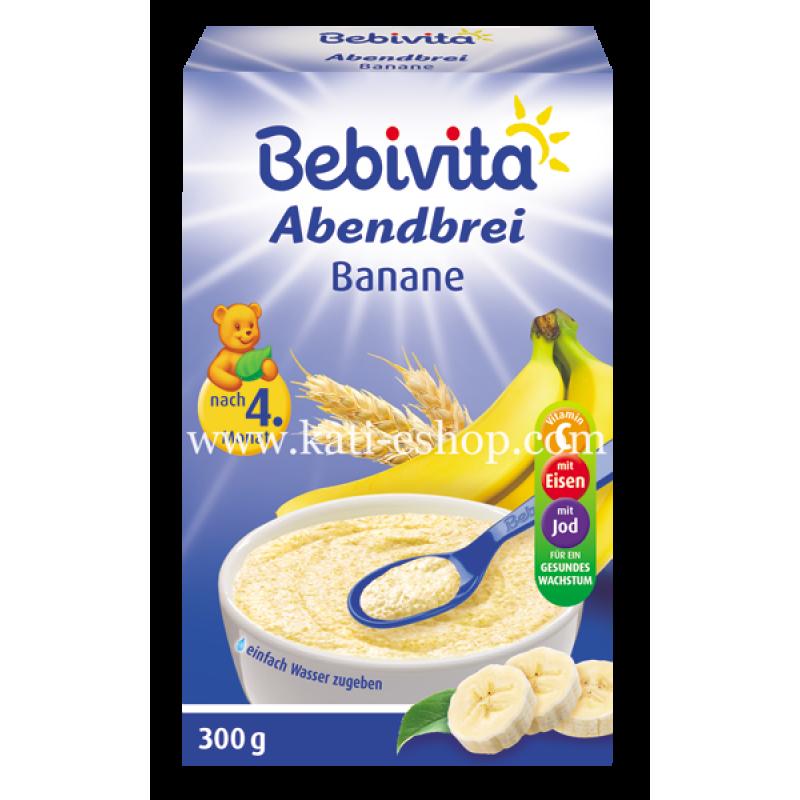 BEBIVITA Инстантна каша банан 4м. 300г