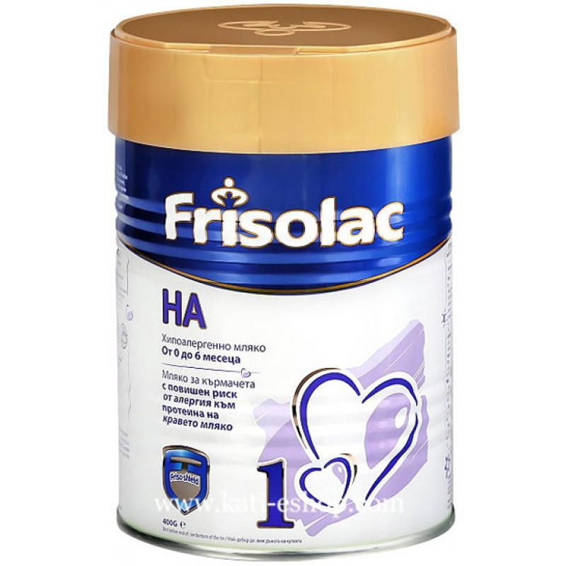 FRISOLAC H.A. 1 Мляко за кърмачета 0-6м. 400г