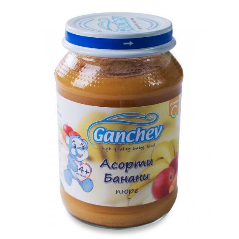 GANCHEV Асорти с банани 4м. 190г