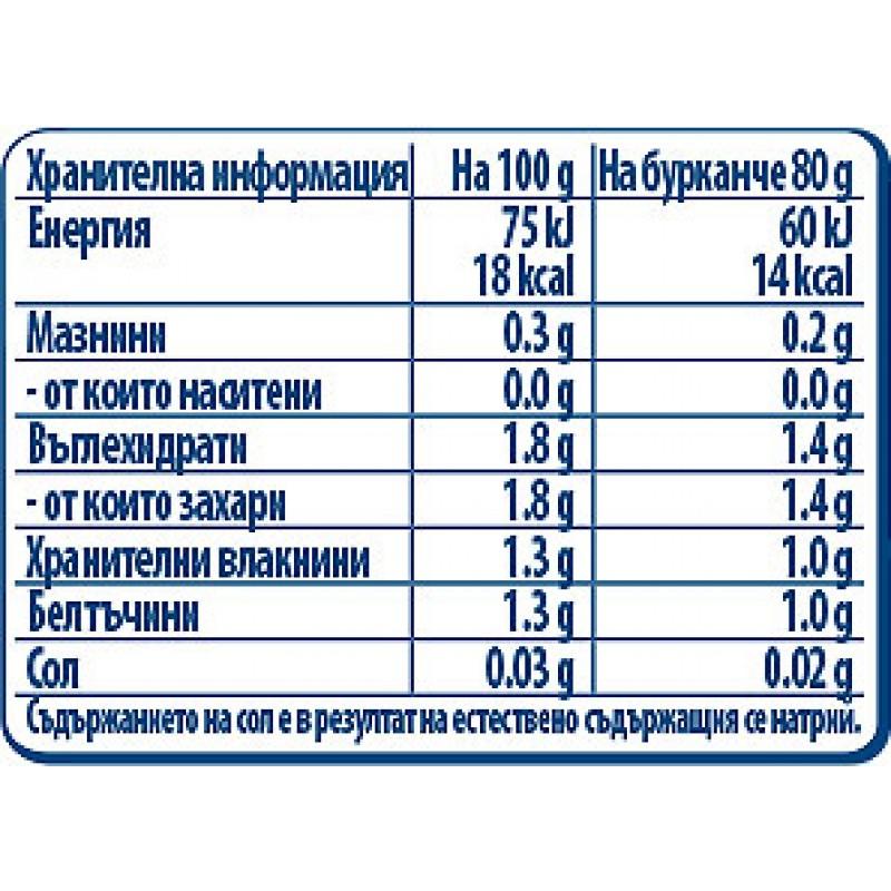 GERBER Пюре от карфиол 4м.  80 г