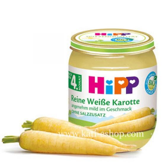 HiPP БИО Бял морков 4м. 125г