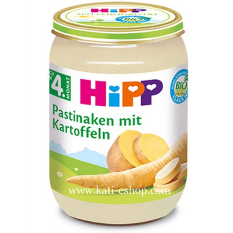 HiPP БИО Пащърнак с картофи 5м. 190г