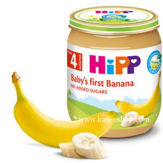 HiPP БИО Банан 4м. 125г
