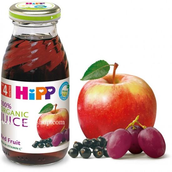 HiPP БИО Сок от червени плодове 4м. 200ml