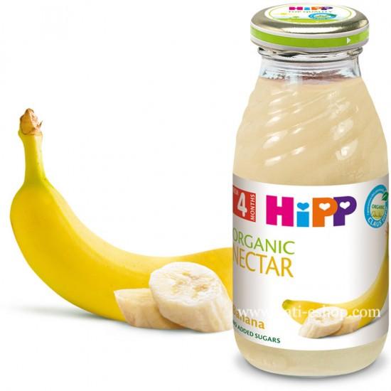 HiPP БИО Нектар банан 4м. 200ml