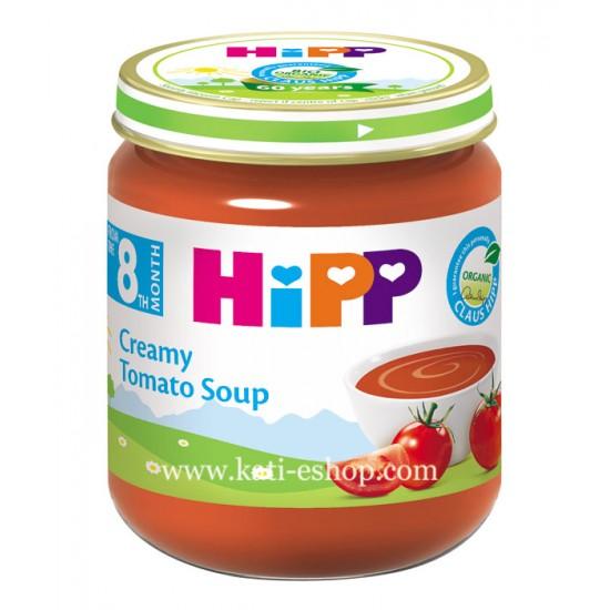 HiPP БИО Доматена крем супа 8м. 200г