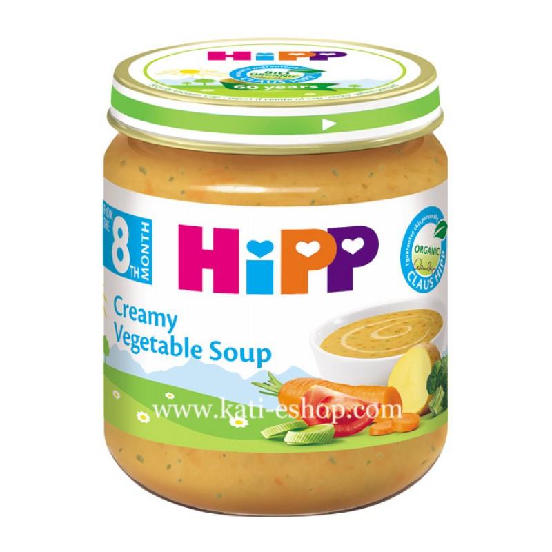 HiPP БИО Зеленчукова крем супа 8м. 200г