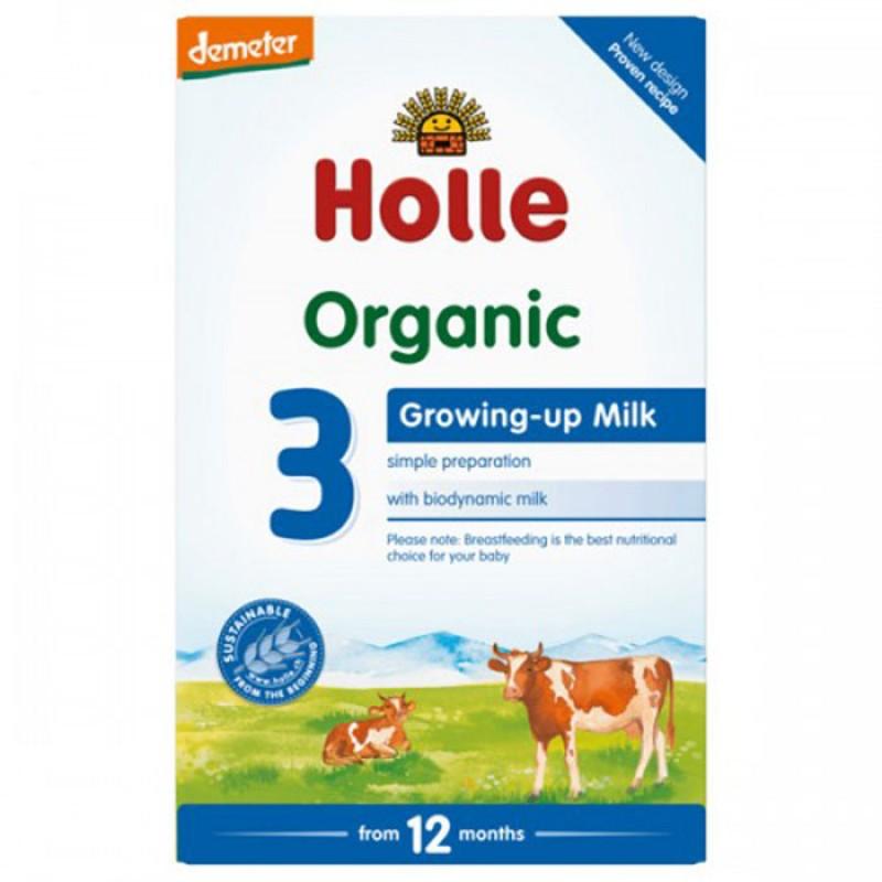 HOLLE БИО Мляко за подрастващи 12м.+ 600г