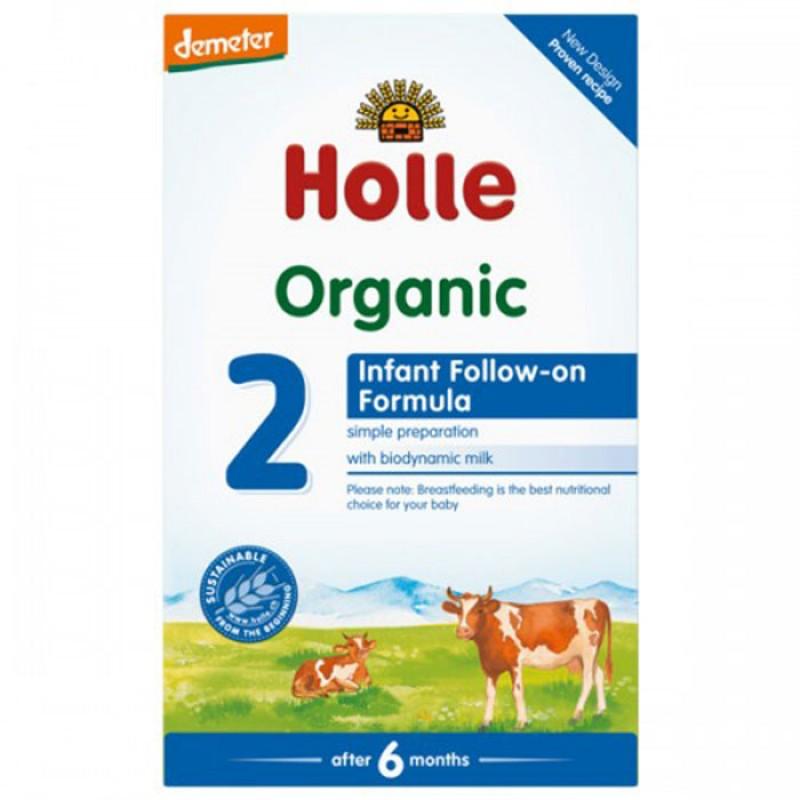 HOLLE БИО Преходно мляко 6м+ 600г