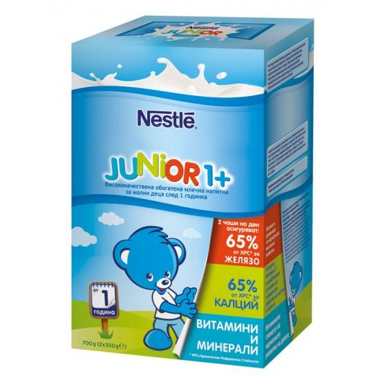 NESTLE  Junior 1+ - млечна напитка за малки деца 700 г