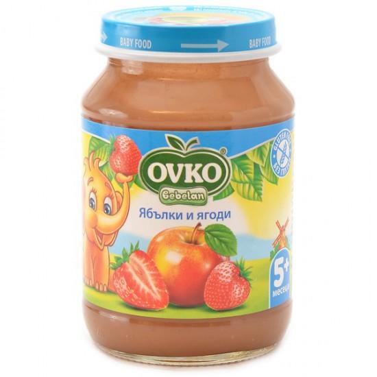 OVKO Ябълки и ягоди 5м. 190г
