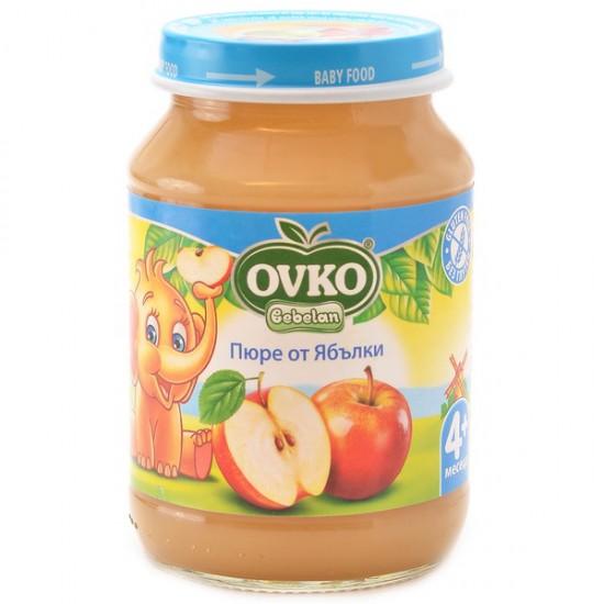 OVKO Пюре от ябълки  4м. 190г