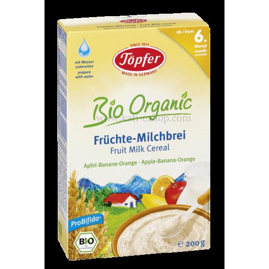 LACTANA BIO Млечна каша с плодове 6м. 200г